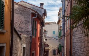 Istra, Streets in Rovinj