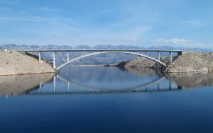 Dalmatia, Island of Pag, Bridge