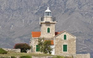 Dalmatia, Island of Hvar, Lighthouse